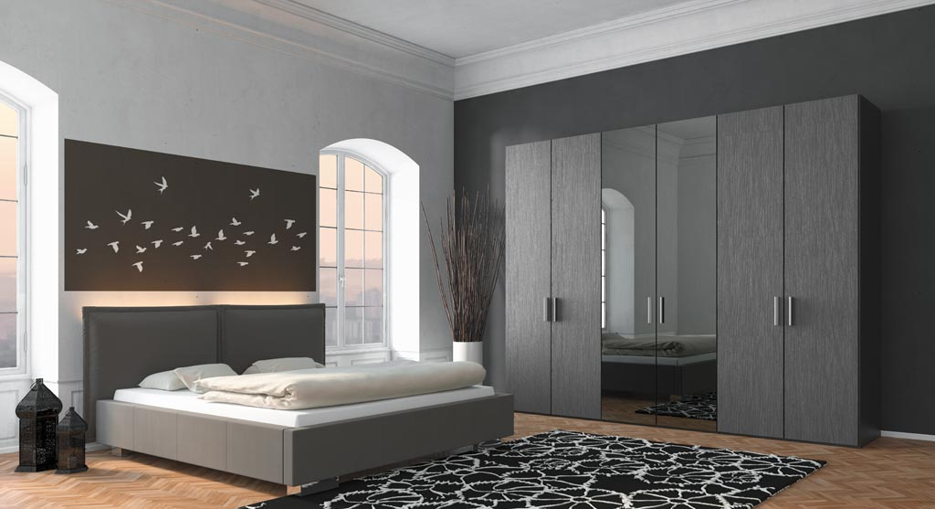 kleiderschr nke und schranksysteme bettenstudio sieker. Black Bedroom Furniture Sets. Home Design Ideas